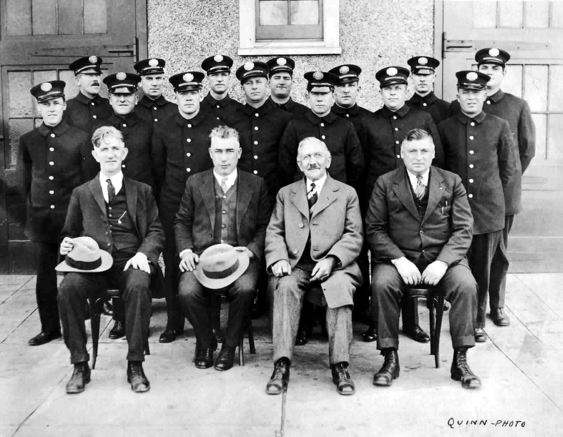Long Beach Fire Dept., 1928