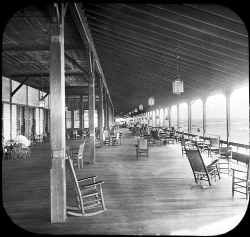 The East Veranda, circa 1890
