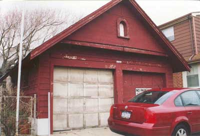 Garage on Oregon St.
