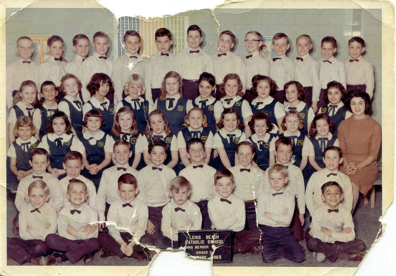 Long Beach Catholic 3rd Grade 1965