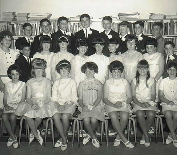 West School, June 1966